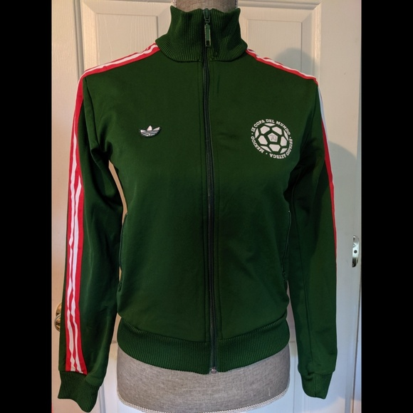 Accor yeso cometer  adidas Other | Originals Green Mexico 70 Track Jacket S | Poshmark